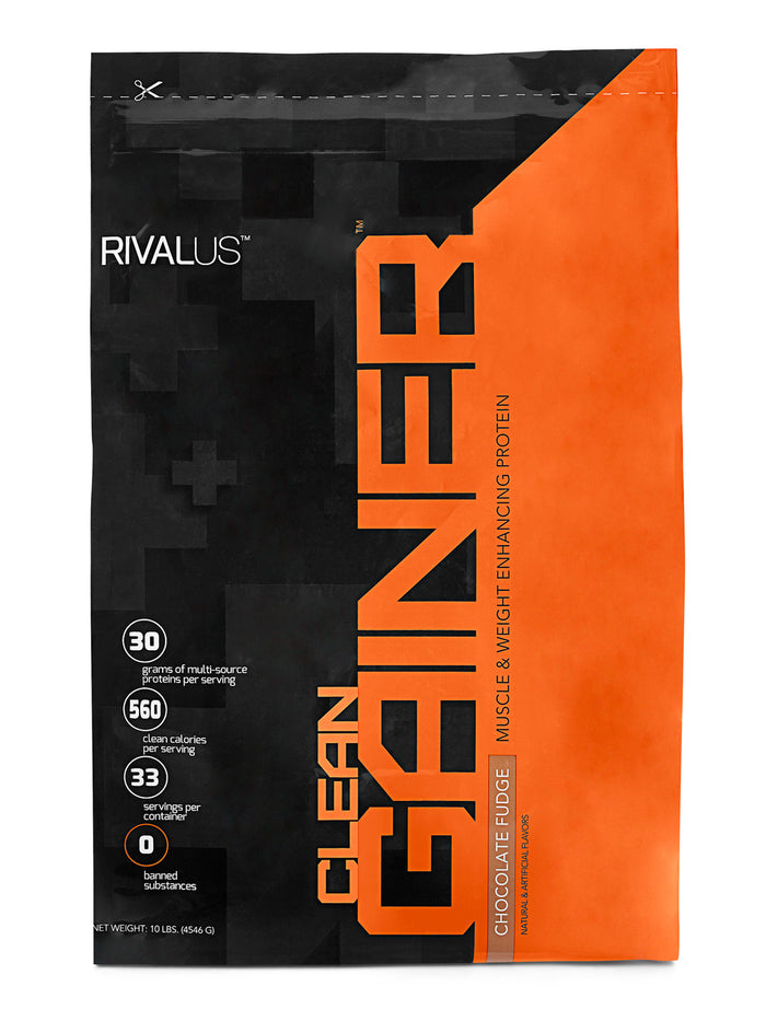 Rivalus Clean Gainer Protein 10lbs