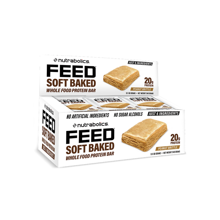 Nutrabolics FEED Soft Baked (9 Bars/ box)