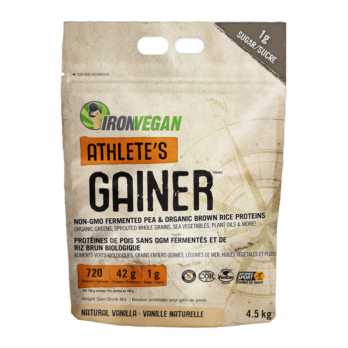 Iron Vegan Athletes Gainer 4.5kg