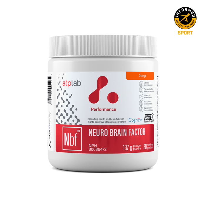 ATP Lab Neuro Brain Factor (20 Servings)