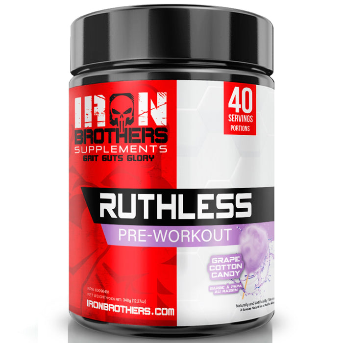 Iron Brothers Ruthless Pre-Workout (40 serve)