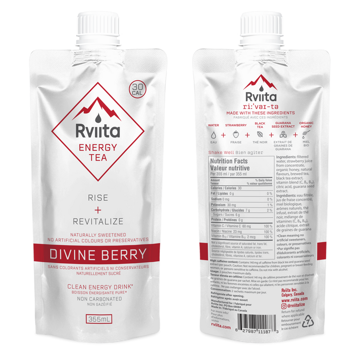 Rviita Energy Tea