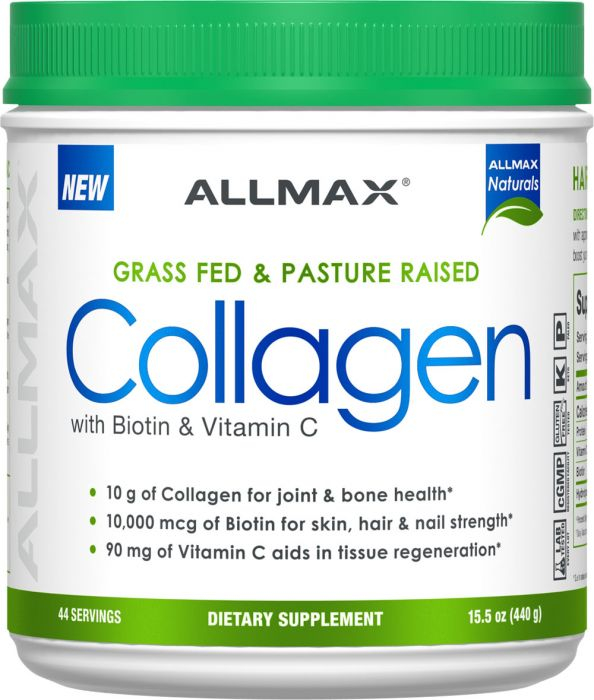 Allmax Collagen + Biotin (44 Serving)