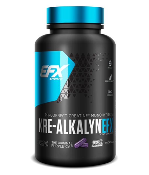 EFX Sports - EFX Kre-Alkalyn Creatine (120 Caps)
