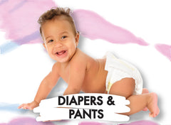 pants and diapers