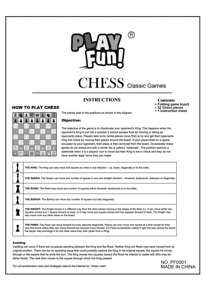 Classic Chess Game Guide