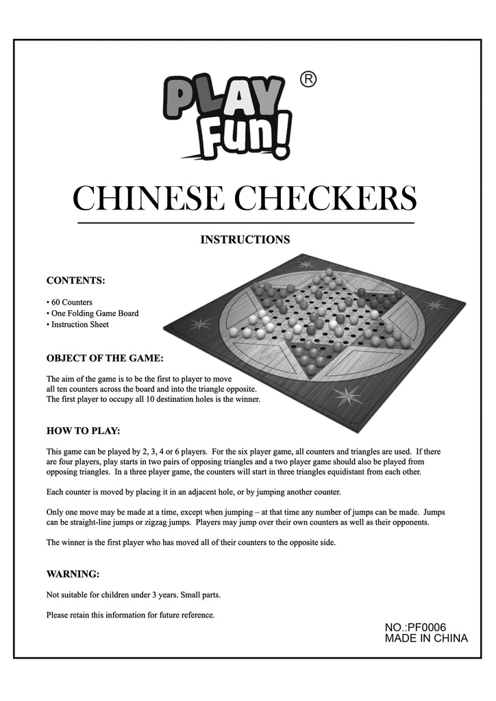 Classic Chinese Checkers Game Guide