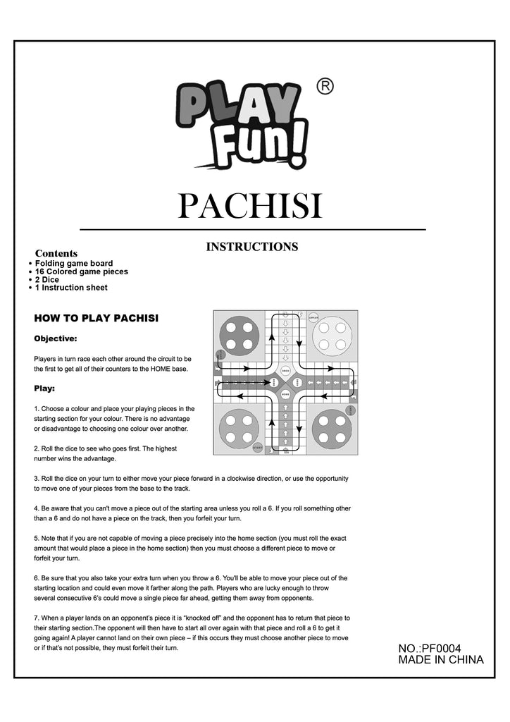 Classic Pachisi Game Guide