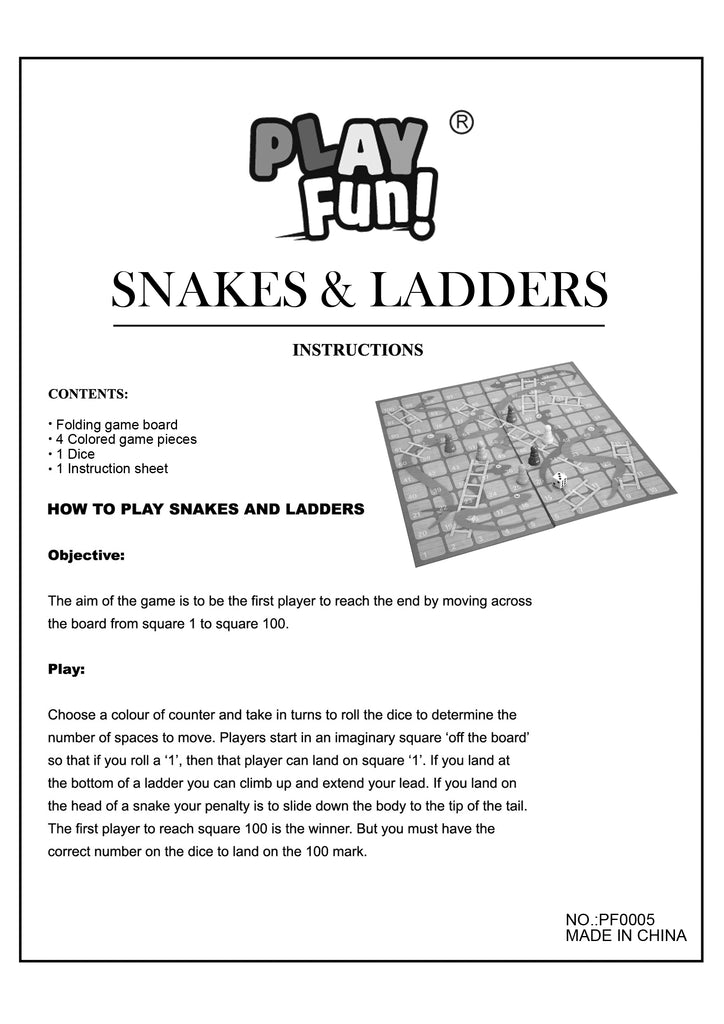 Classic Snake & Ladders Game Guide