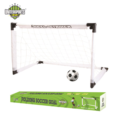 22/35-inch Fold-able Soccer/Football Goal Game Set