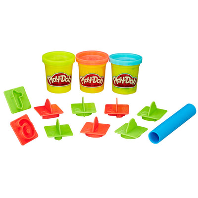 Play-Doh Number-Themed Bucket
