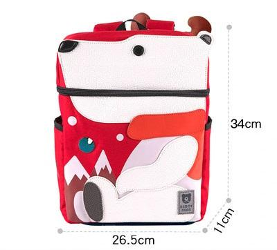 Beddy Bear Kids School Bag - Polar Bear Design