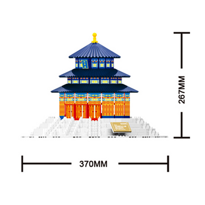 Beijing Temple of Heaven Building Bricks Set