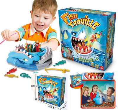 Shark Bite, family fun and party game