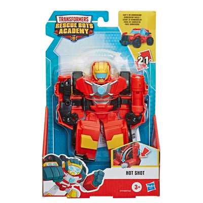 Transformers Rescue Bots Academy Collectible 6-Inch Converting Toy Robots - Hot Shot