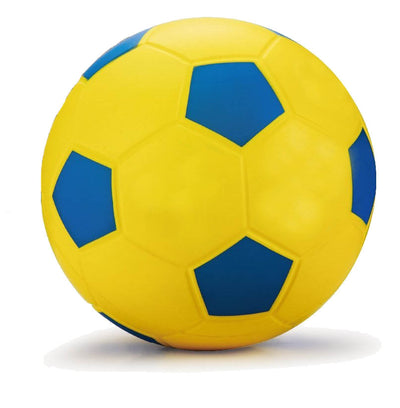 5-inch PU Yellow Soccer Ball
