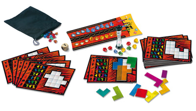 Ubongo, The Classic Puzzle Game, Strategic Game