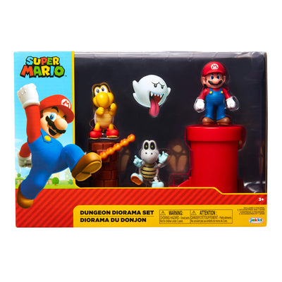 Nintendo Super Mario Dungeon Diorama Set