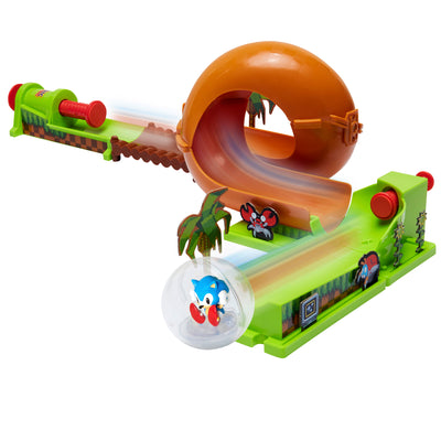 9 Piece Pinball Green Hill Zone Pinball Track Play Set
