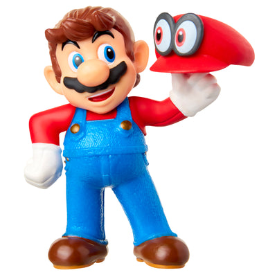 "Super Mario 2.5"" Mario with Cappy Action Figure"