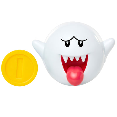 Nintendo Super Mario 4-inch Figures Wave 18: BOO with COIN