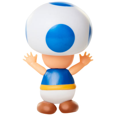"Super Mario 2.5"" Blue Toad Action Figure"
