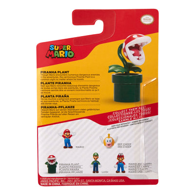 Super Mario 2.5 inch Piranha Plant Action Figure