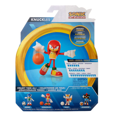 Sonic the Hedgehog 4-inch Basketball Knuckles Figure
