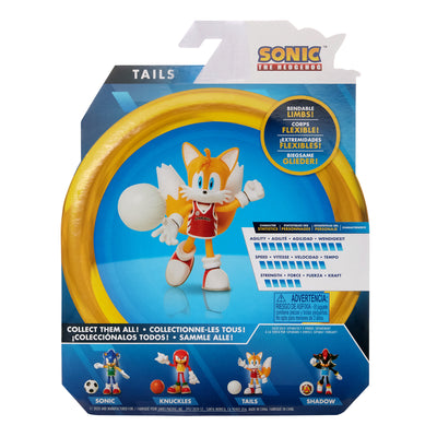Sonic The Hedgehog 4-inch Volleyball Tails Figure