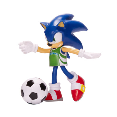 "Sonic The Hedgehog 4"" Soccer Sonic Figure"