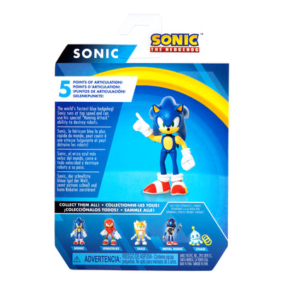 Sonic the Hedgehog 2.5 inch Modern Sonic Action Figure