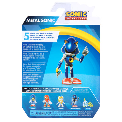Sonic the Hedgehog 2.5 inch Modern Metal Sonic Action Figure