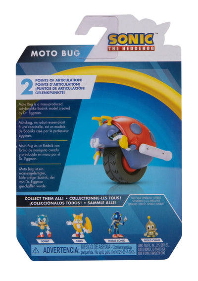Sonic the Hedgehog 2.5 inch Moto Bug Action Figure