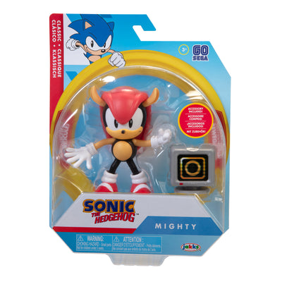 Sonic the Hedgehog 4 inch Mighty with Item Box Accessory Action Figure