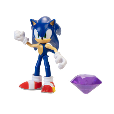 Sonic the Hedgehog 4 inch Sonic with Chaos Emerald Action Figure