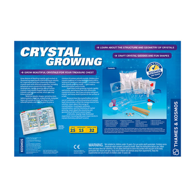 Crystal Growing, Craft Crystal Geodes & Fun Shapes Experiment Kit