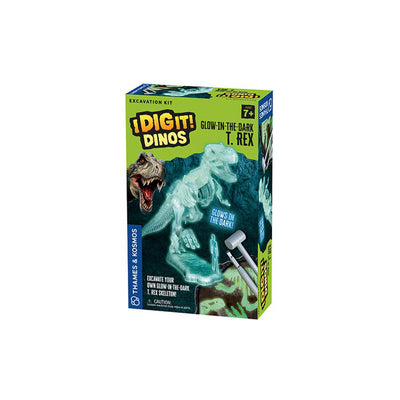 I Dig It Dinos, Glow In The Dark T.Rex, Excavation Kit