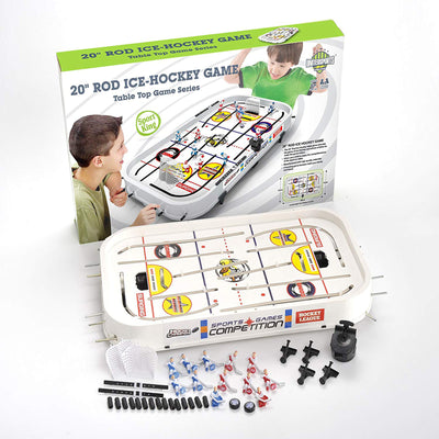 Buy 1 Get 1 FREE - 20-inch Rod Ice-Hockey Table Game