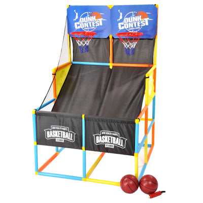 Double Shoot-Out Arcade Basketball Game Set