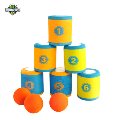 Foam Can Toss Set Party Game Series