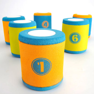Foam Can Toss Set