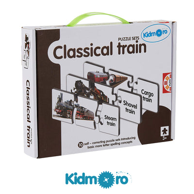 Classical Train Puzzle Sets