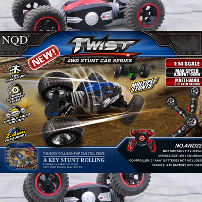 Twist 4WD Stunt Car Series