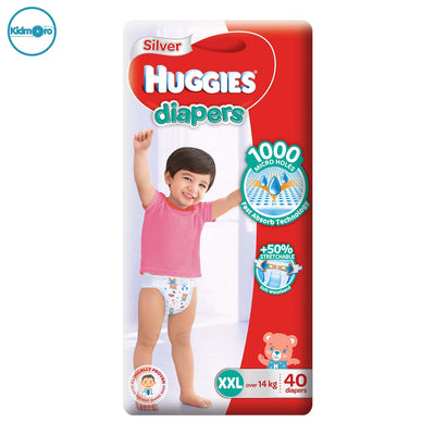 Huggies Silver Diapers (XXL)