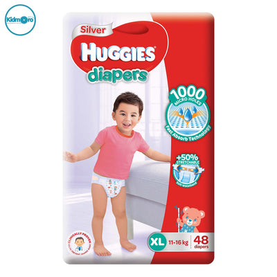 Huggies Silver Tape Diapers (Size XL)