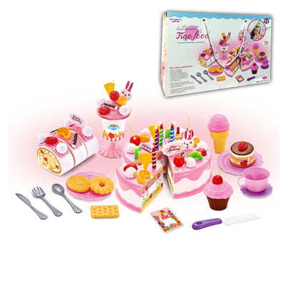 Cut Foods Game, DIY Cake Combination