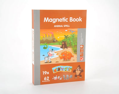 Magnetic Playbook Puzzle, Animal Spell Theme
