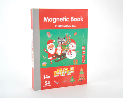 Magnetic Playbook Christmas Spell Theme
