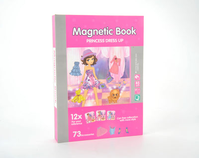 Magnetic Playbook  Puzzle, Princess Dress Up Theme