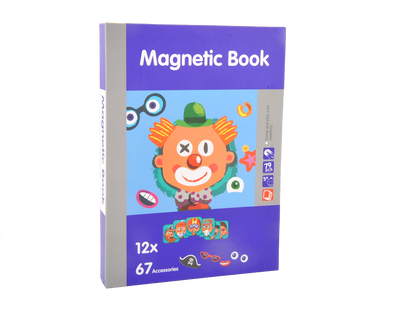 Magnetic Playbook Puzzle, Face Spell Theme